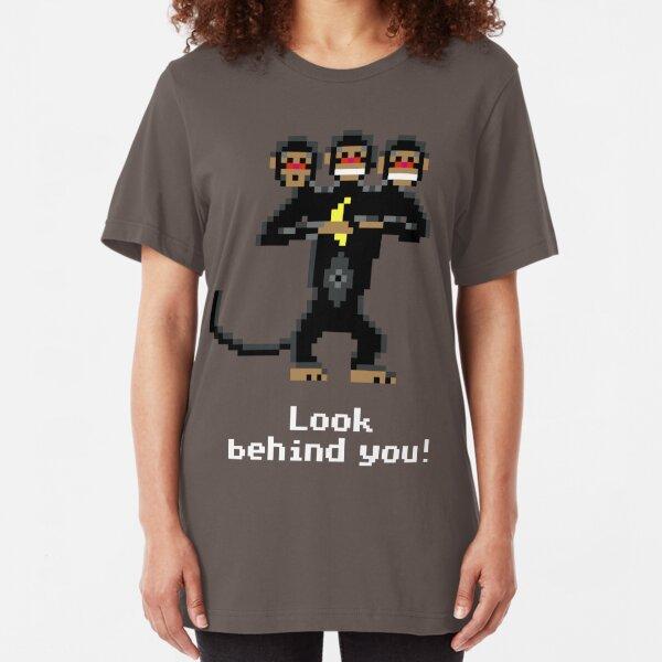 Three-Headed Monkey V2 Slim Fit T-Shirt