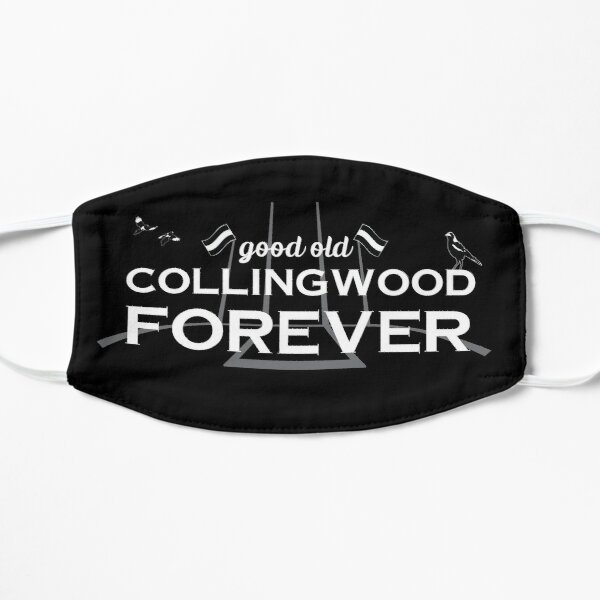 Good Old Collingwood Forever - Collingwood theme song Flat Mask