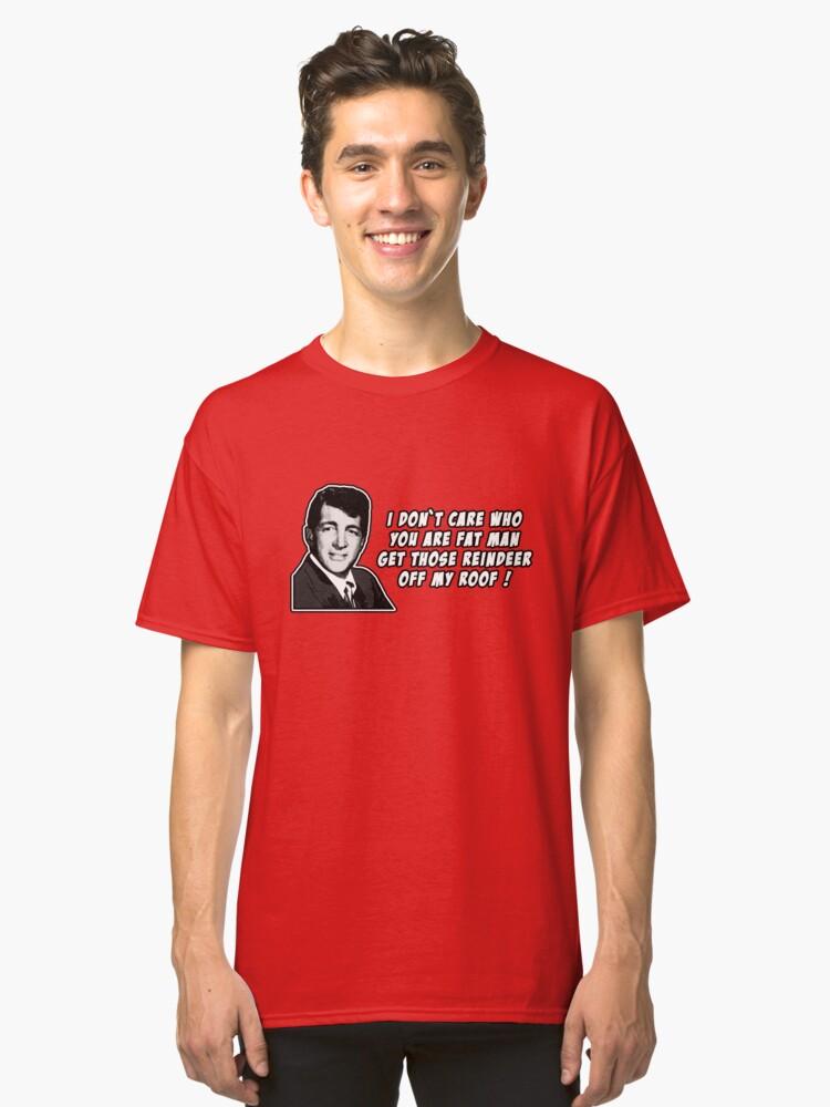 Dean Martin Christmas.Dean Martin Christmas Classic T Shirt