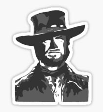 The Man With No Name Sticker