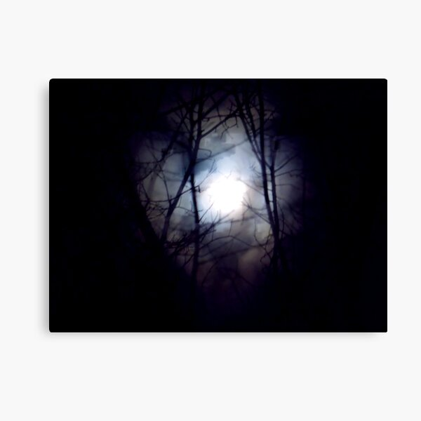 Witch's Moon Canvas Print