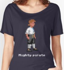 Mighty Pirate V2 Women's Relaxed Fit T-Shirt