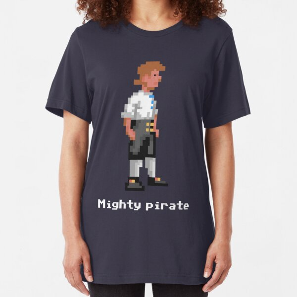 Mighty Pirate V2 Slim Fit T-Shirt