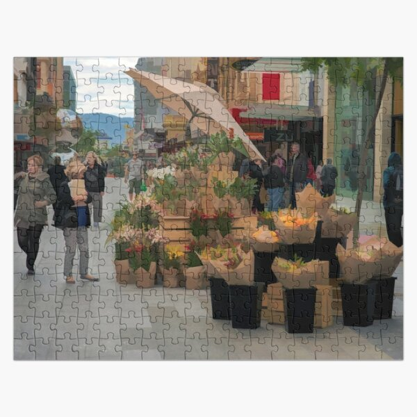 Mall Flowers Jigsaw Puzzle