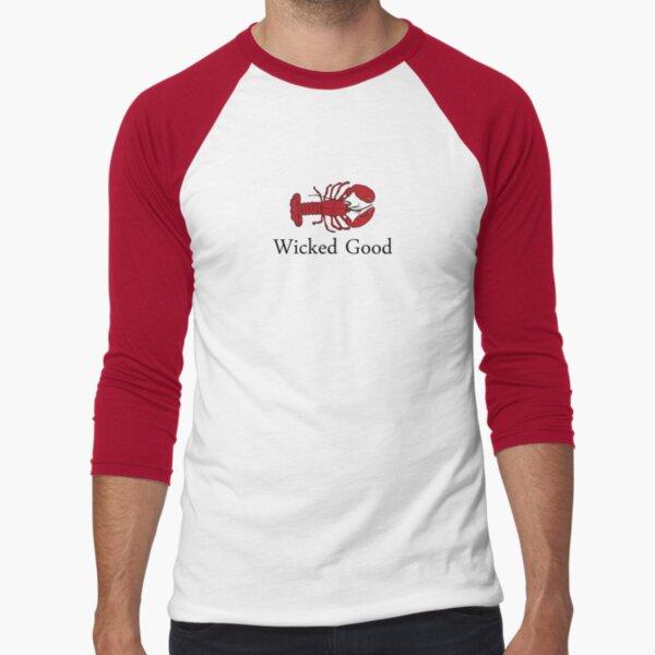 Wicked Good Baseball ¾ Sleeve T-Shirt