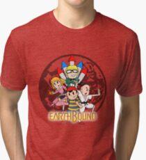 Earthbound w/ Logo Tri-blend T-Shirt