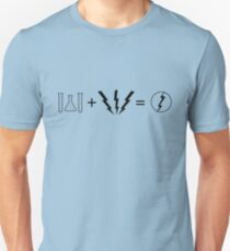 Sheldon's Flash Equation Unisex T-Shirt