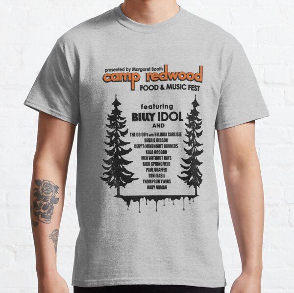 Camp Redwood Food & Music Fest T-shirt classique