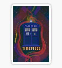 Timepiece Tardis Sticker