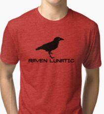 Raven Lunatic Tri-blend T-Shirt