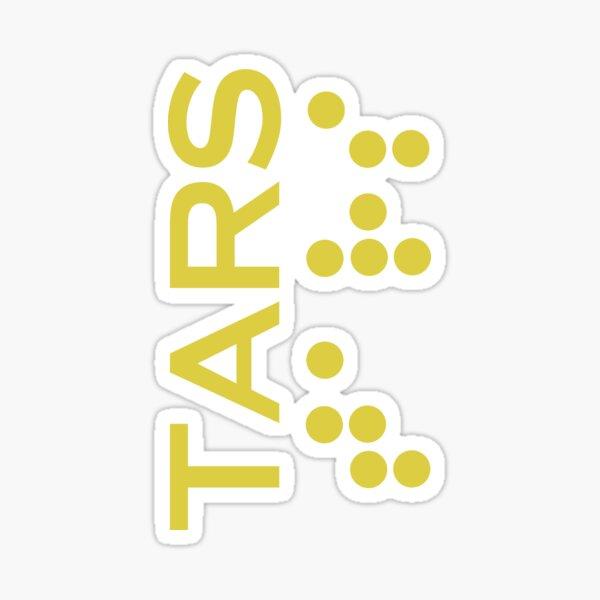 Interstellar - Tars design (correct font) Sticker