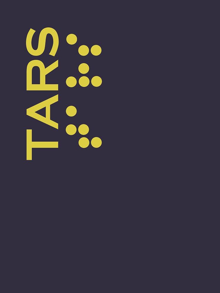 Interstellar - Tars design (correct font) by youtubedesign