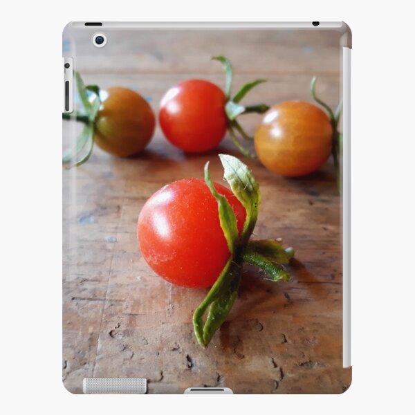 4 Cherry Tomatoes on Wood iPad Snap Case