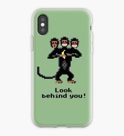 Three-Headed Monkey iPhone Case