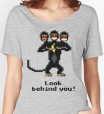 Three-Headed Monkey Women's Relaxed Fit T-Shirt