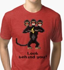 Three-Headed Monkey Tri-blend T-Shirt