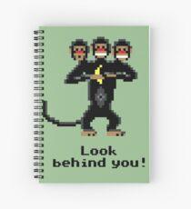 Three-Headed Monkey Spiral Notebook