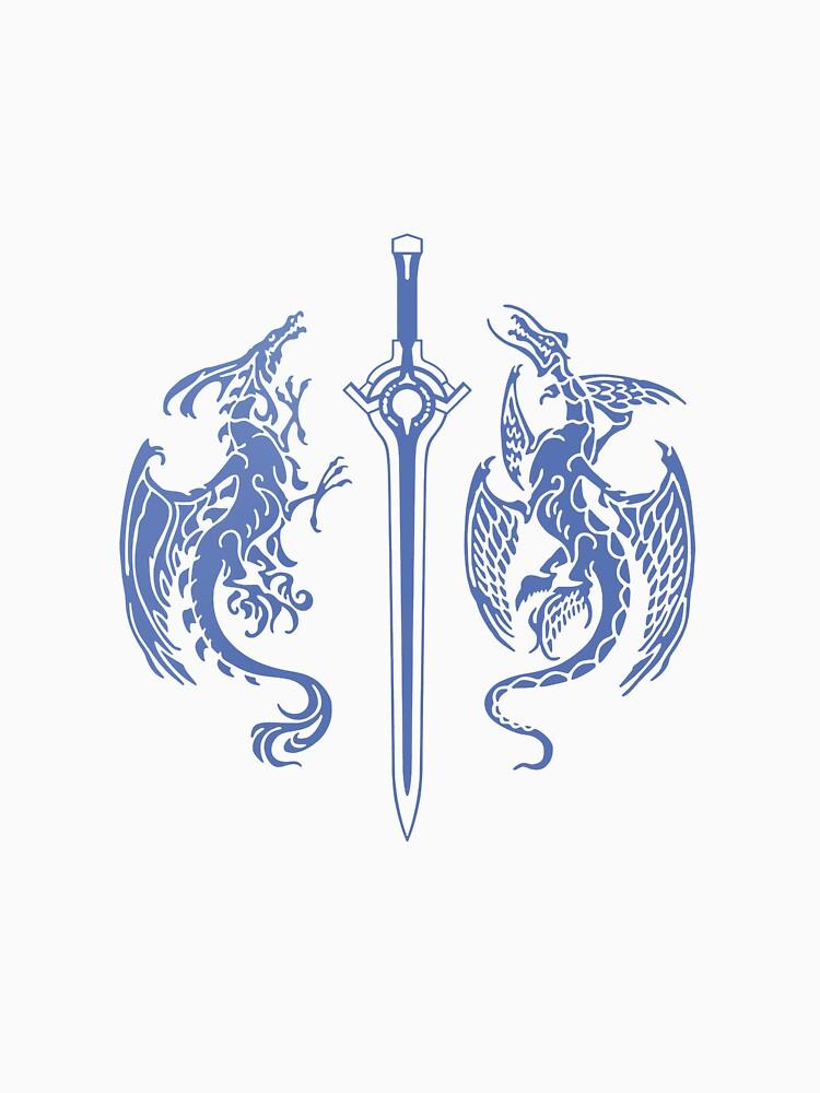 Quot Fire Emblem Awakening Double Dragon Quot T Shirt By