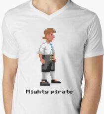 Mighty Pirate Men's V-Neck T-Shirt