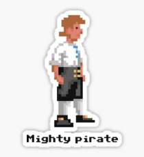 Mighty Pirate Sticker
