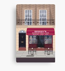 Welcome to Baker Street Canvas Print