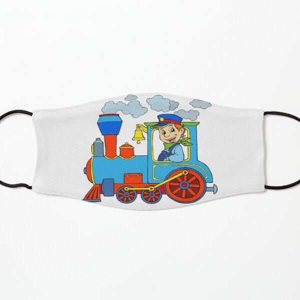 Locomotive steam locomotive Kids Mask