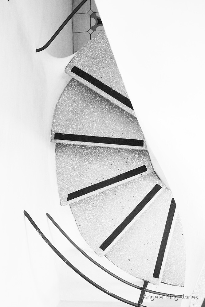 Gaudi's stairs by Angela King-Jones
