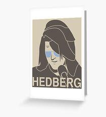 Mitch Hedberg Greeting Card