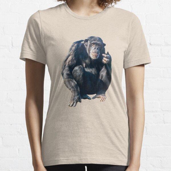 oder robuster Schimpanse Essential T-Shirt