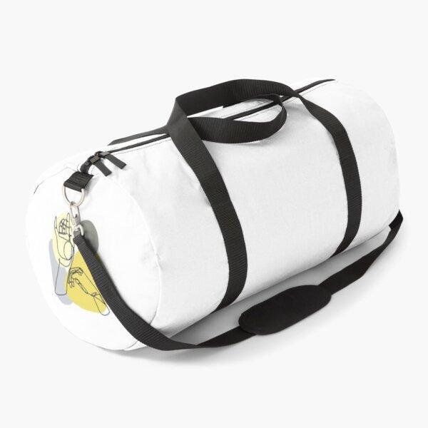 Continuous Line Hands Duffle Bag