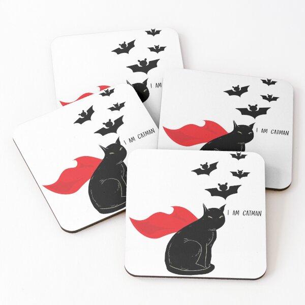 I am Catman Coasters (Set of 4)