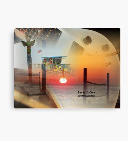 California Sunset Canvas Print