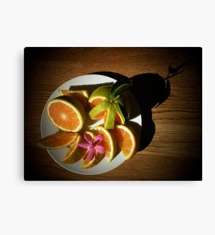 Randy Green Oranges Best... Canvas Print