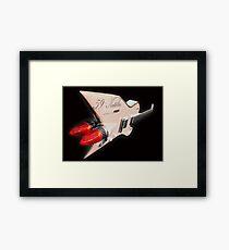 1959 Aluminium Cadillac Guitar Framed Print