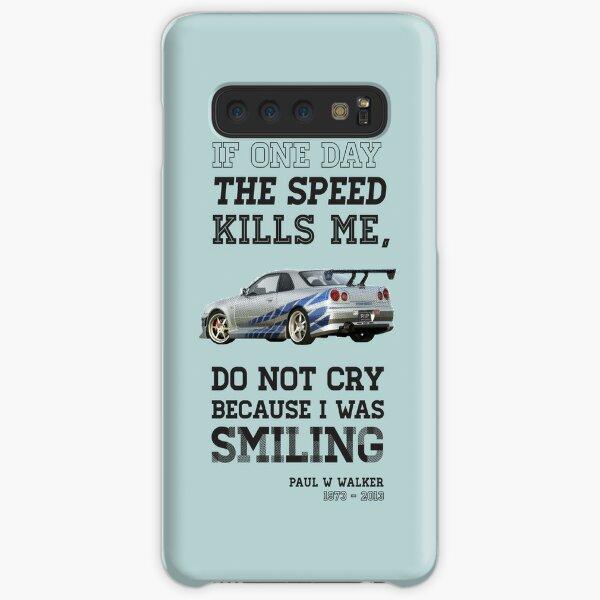 Paul Walker Tribute GTR - Halftone Samsung Galaxy Snap Case