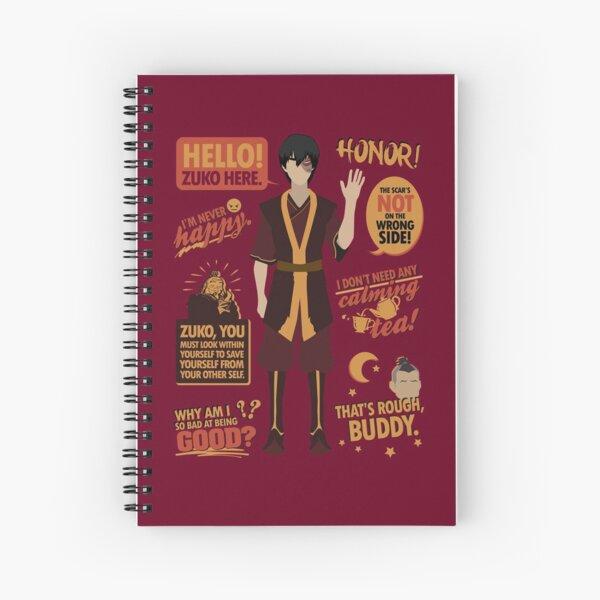 Hello, Zuko Here! Spiral Notebook