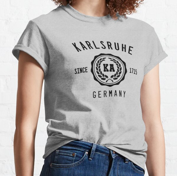 Karlsruhe Baden college style Classic T-Shirt