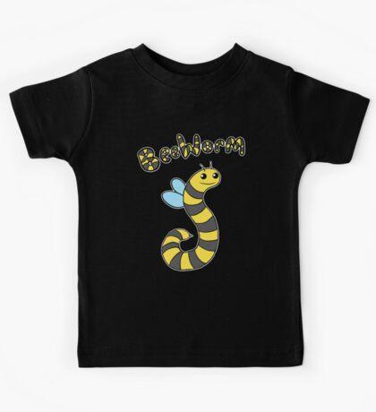 BeeWorm on dark Kids Clothes