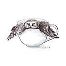 Little Owl in Mug by itssabbyg