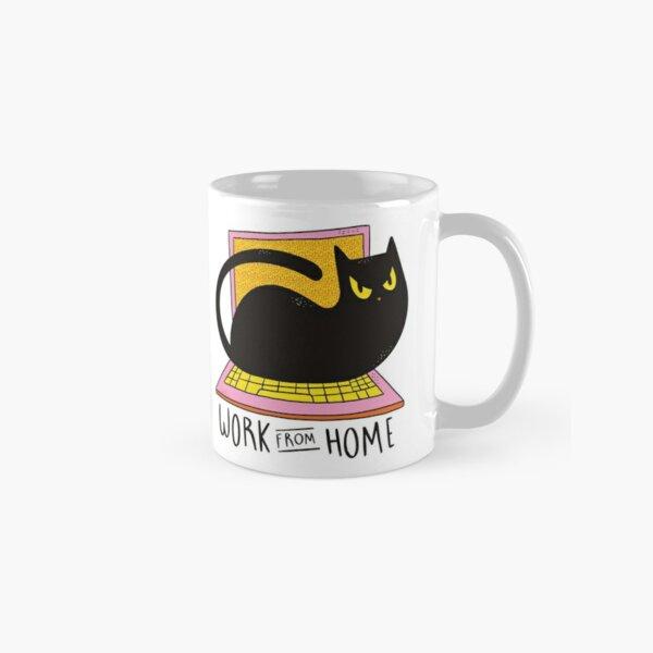 HOME OFFICE CAT  Classic Mug