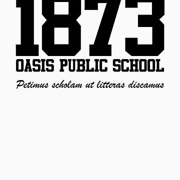 OASIS Public School #1873 - Black by dopefish