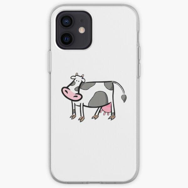 vaca Funda blanda para iPhone