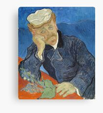 Vincent Van Gogh  - Dr Paul Gachet, 1890 Canvas Print