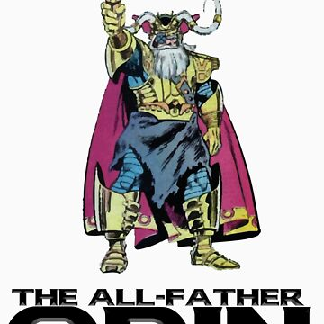the all-father odin by polecatsky