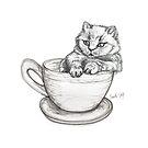 Kitten Mug by itssabbyg