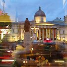 London, Trafalgar Square by gothgirl