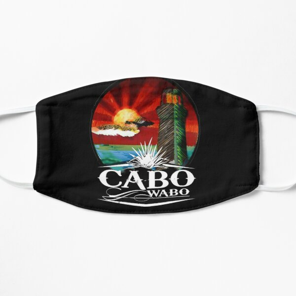 Cabo wabo cantina tequila Flat Mask
