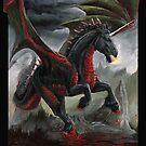 The Dire Unicorn by drakhenliche