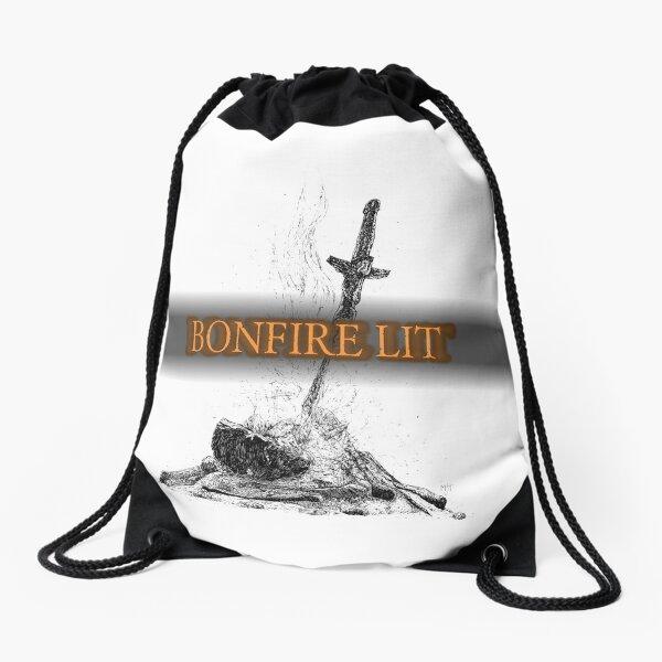 Bonfire Lit (Dark Souls) Drawstring Bag