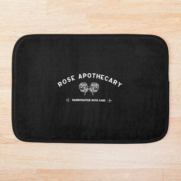 Rose Apothecary Schitts Creek TV Apparel Bath Mat